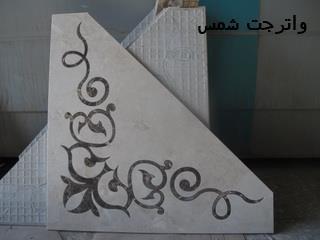 طراحی، برش و مونتاژ معرق و واترجت  سنگ و سرامیک در تهران